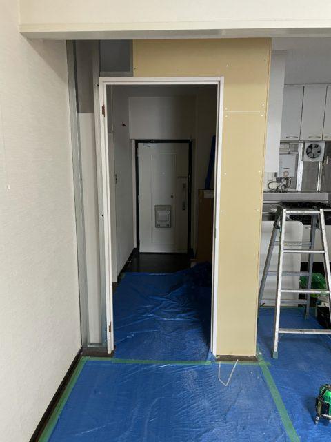 茨木市F様邸 室内間仕切り工事